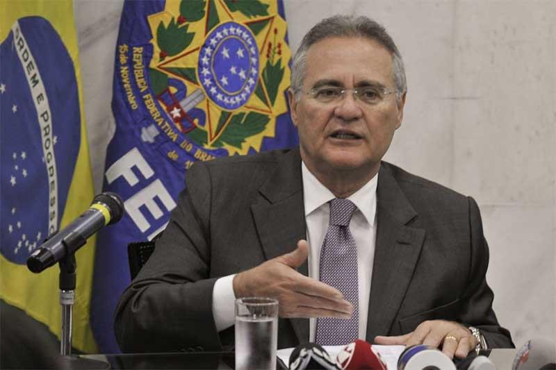 Renan Calheiros deve elaborar relatório preliminar da CPI da Covid (Foto: Jane de Araújo/Agência Senado)