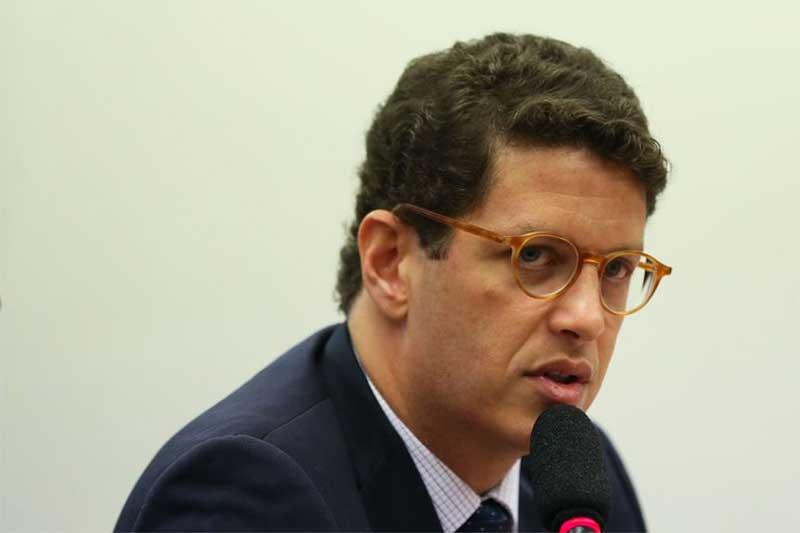 Ricardo Salles foi à PF pedir informações sobre inquérito (Foto: José Cruz/ABr)