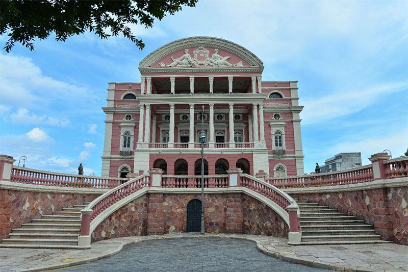 Visitação no Teatro Amazonas precisa ser agendada (Foto: Michael Dantas/SEC-AM)