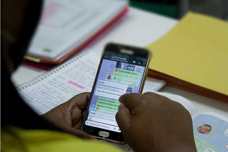 Auxílio conectividade é para contratar serviços de internet (Foto: João Viana/PMM Semcom)