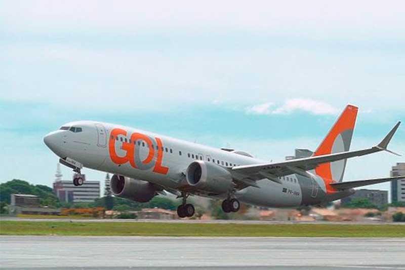 Avião da Gol: companhia aumenta oferta de voos regionais (Foto: Gol/Divulgação)