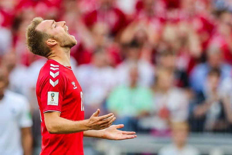 Christian Eriksen desmaiou durante partida da Dinamarca