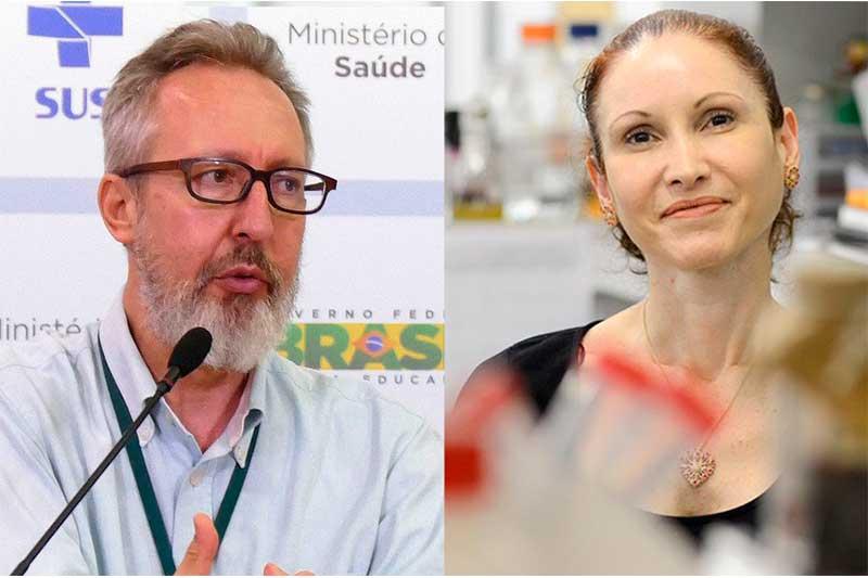 Cientistas Claudio Maierovitch e Natalia Pasternak vão depor nesta sexta (Foto: Elza Fiuza/ABr e Gute Garbelotto/CMSP)