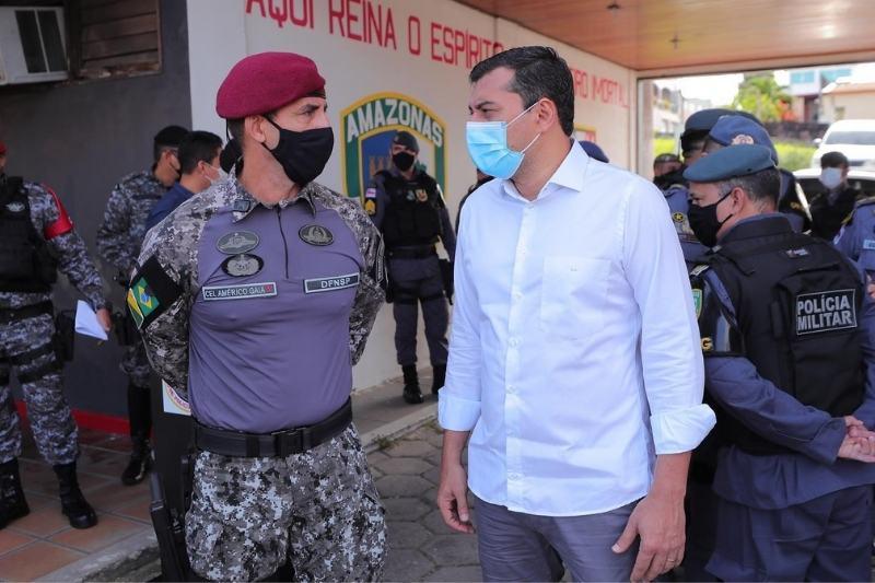 Wilson Lima justifica que não vai à CPI da Covid por conta dos ataques criminosos no AM (Foto: Divulgação/SSP-AM)