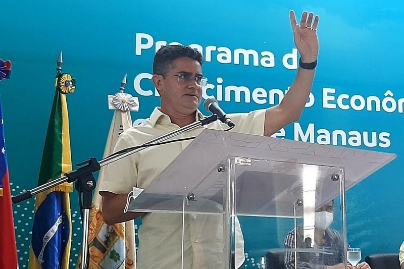 David Almeida disse que bandidos não devem ser tratados como cidadãos (Foto: Walter Franco/ATUAL)