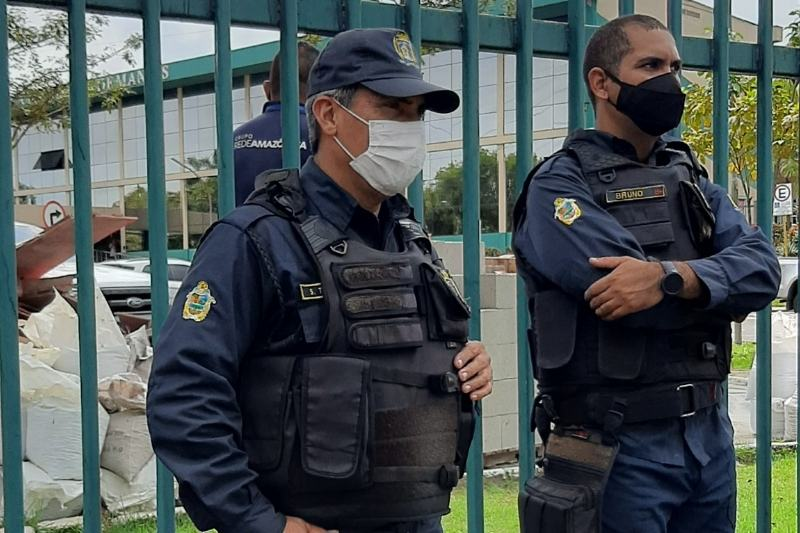Guarda Municipal de Manaus receberá armas para usar em confrontos com bandidos (Foto: Walter Franco/ATUAL)
