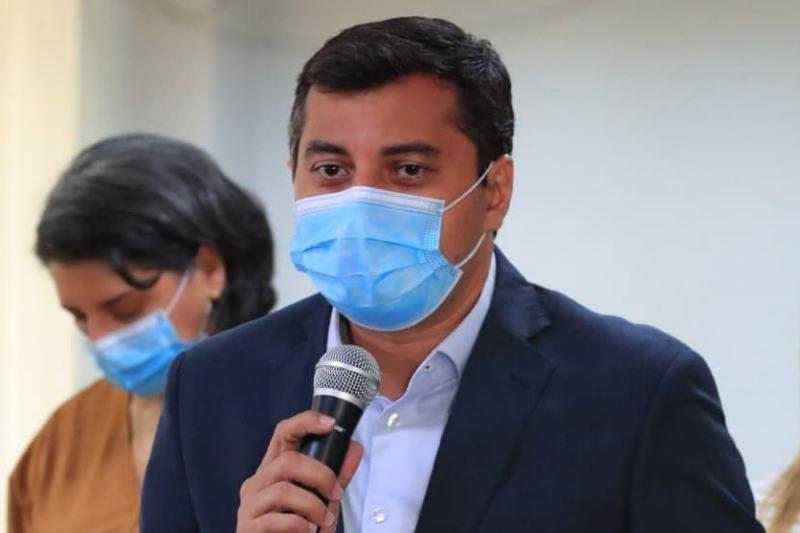 Governador Wilson Lima anuncia vacinação para pessoas a partir de 28 anos de idade (Foto: Reprodução/Facebook)