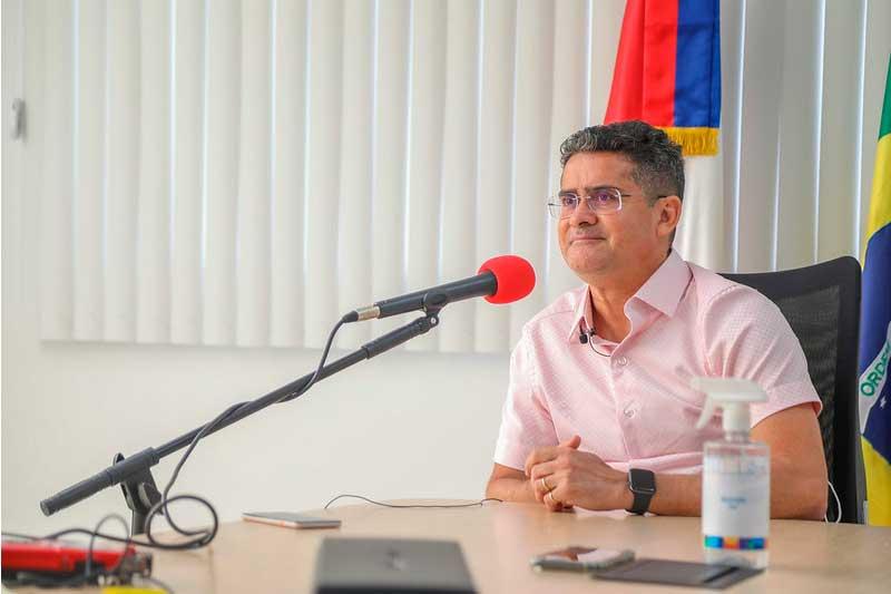 David Almeida afirmou à BBC que Manaus não terá terceira onda de Covid (Foto: Ruan Souza/PMM Semcom)