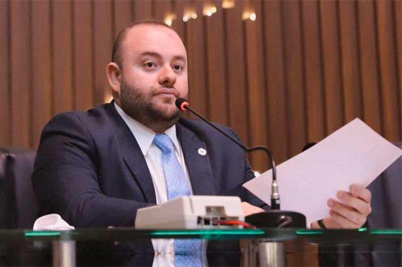 Deputado Fausto Jr foi relator fa CPI da Saúde (Foto: Noa Magalhães/Assessoria Divulgação)