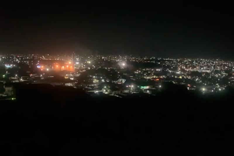 Fogos de artifício em Manaus
