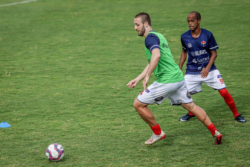 Guilherme Möller e Rossini do Fast Clube (Foto: João Normando/FAF)