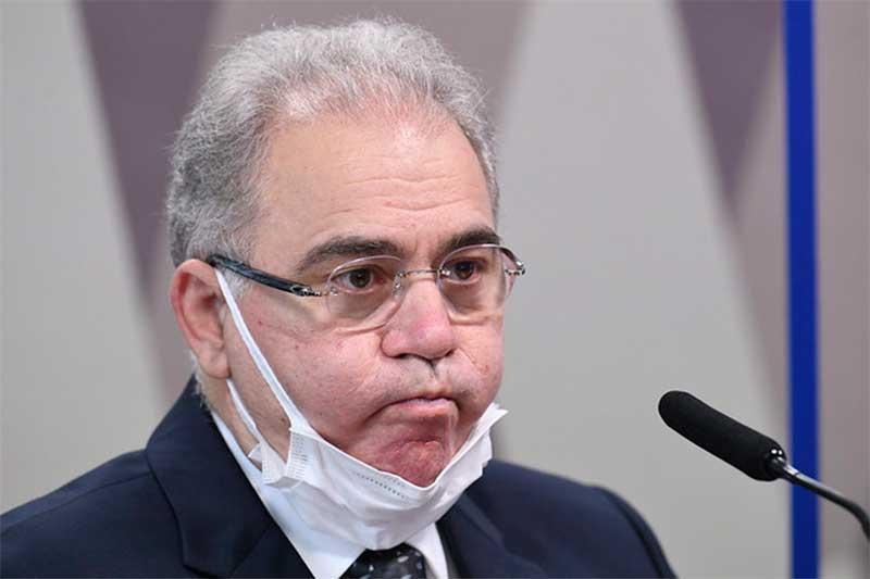 Marcelo Queiroga diz que não lhe compete julgar atos de Bolsonaro (Foto: Jefferson Rudy/Agência Senado)