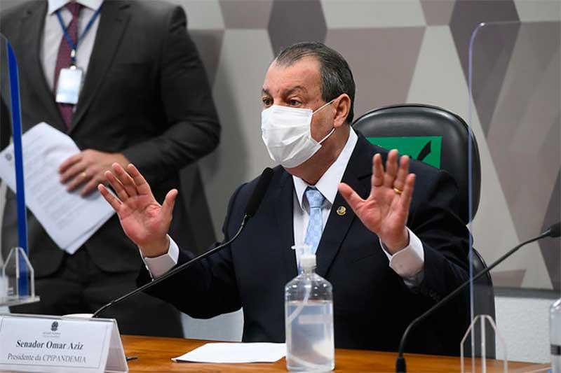 Omar Aziz diz que é preciso muiuto cuidado com nova denúncia (Foto: Marcos Oliveira/Agência Senado)