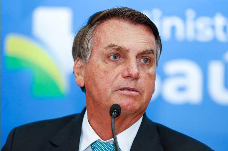Presidente Jair Bolsonaro disse que errou sobre mortes por Covid (Foto: Palácio do Planalto/Divulgação)