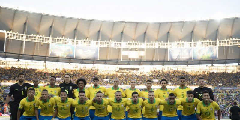 Seleção Brasileira campeã da Copa América 2019 (Foto: Lucas Figueiredo/CBF)