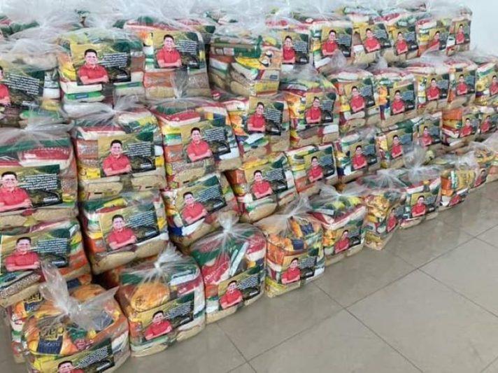 Sinésio Campos cestas básicas