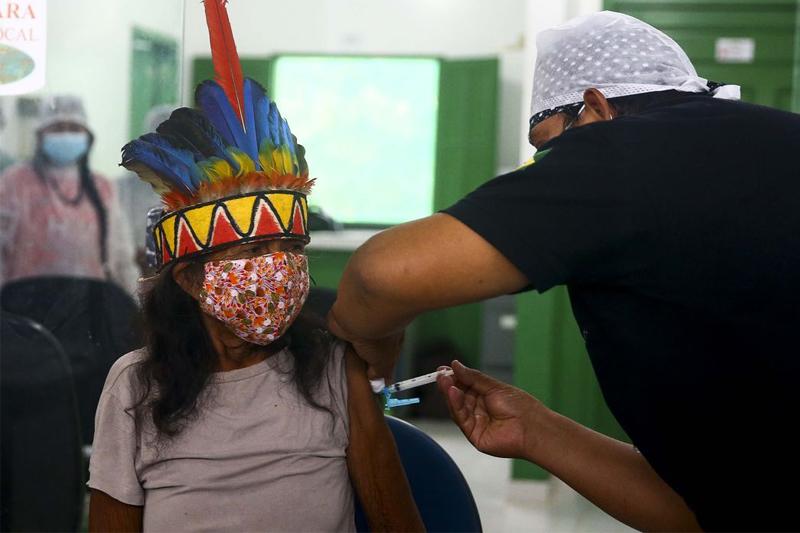 vacinacao de indigenas