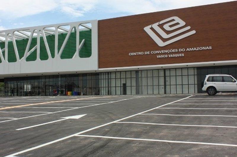 Centro de Convenções Vasco Vasques não foi aberto para a vacinação (Foto: Divulgação)