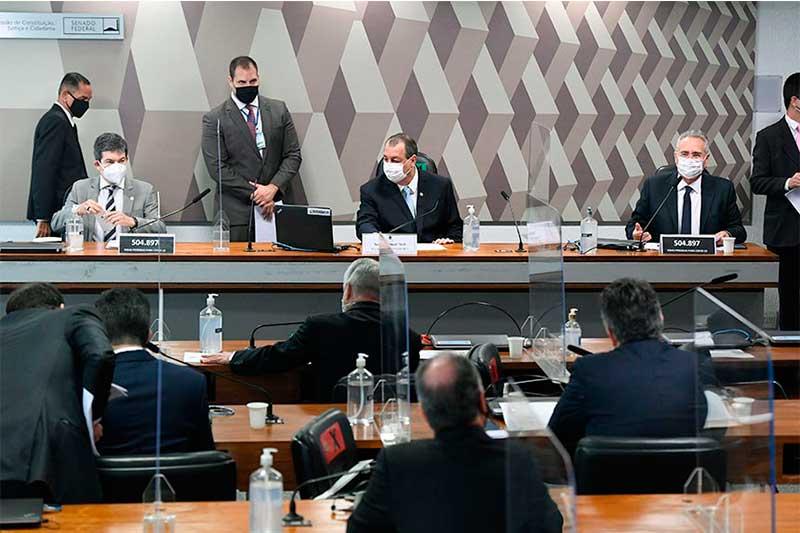 CPI da Covid: senadores atribuem fim de contrato à ação da comissão (Foto: Jefferson Rudy/Agência Senado)