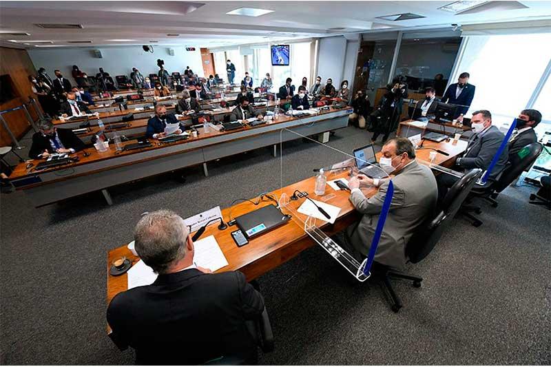 CPI da Covid: Senadores interrogaram representante de empresa médica (Foto: Edilson Rodrigues/Agência Senado)