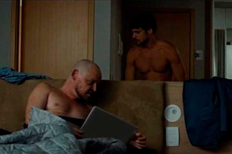 """Cauã Reymond e Matheus Nachtergaele em cena de """"Piedade"""": interpretações seguram o drama (Foto: Divulgação)"""