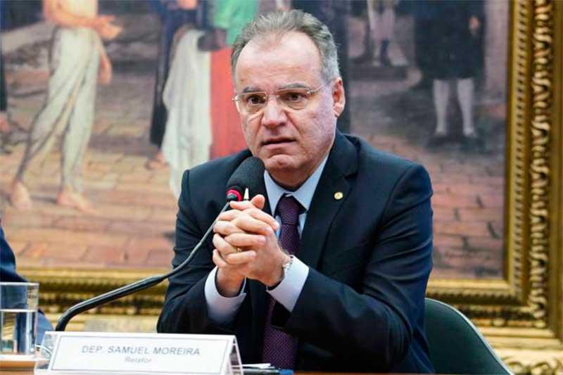 Samuel Moreira diz que novo sistema não é para ser contra ou a favor (Foto: Pablo Valadares/Agência Câmara)