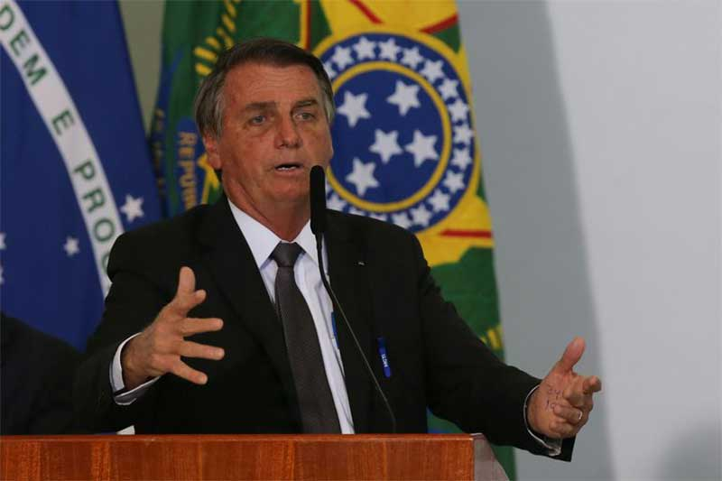 Presidente Jair Bolsonaro foi internado para tratar soluço (Foto: Fabio Rodrigues Pozzebom/ABr)
