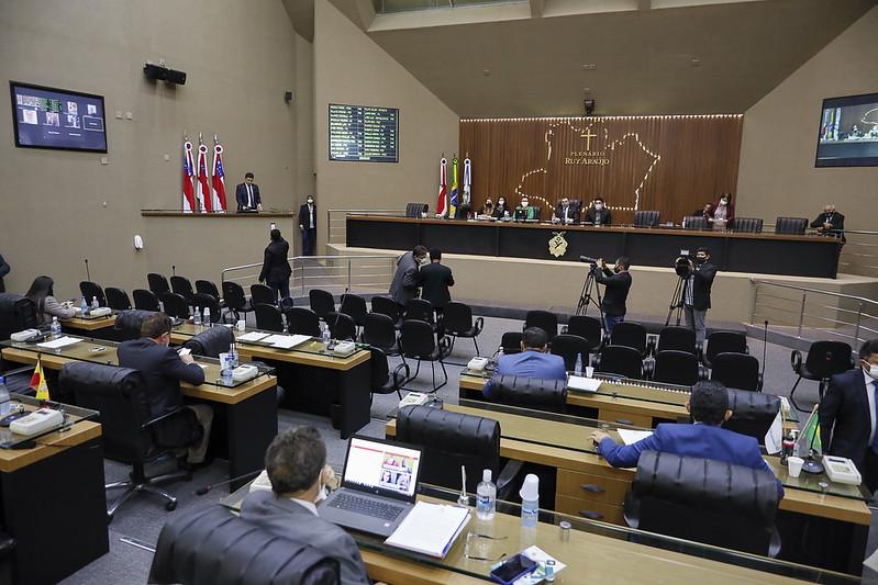 Assembleia Legislativa sessão de votação