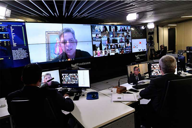 Senador Rogério Carvalho diz que LSN é ultrapassada (Foto: Waldemir Barreto/Agência Senado)