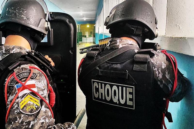 policia de choque