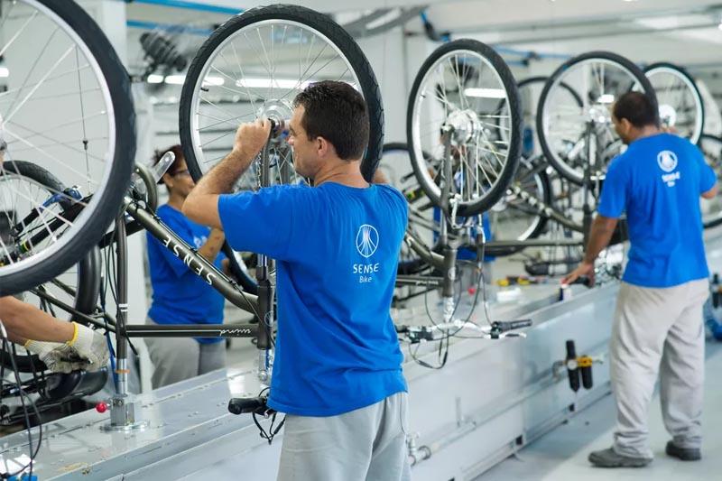 producao de bicicletas