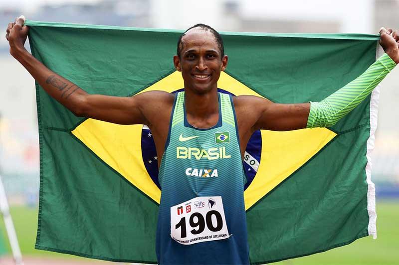 Alisson dos Santos está na final dos 400 m (Foto: Wagner Carmo/CBAt)