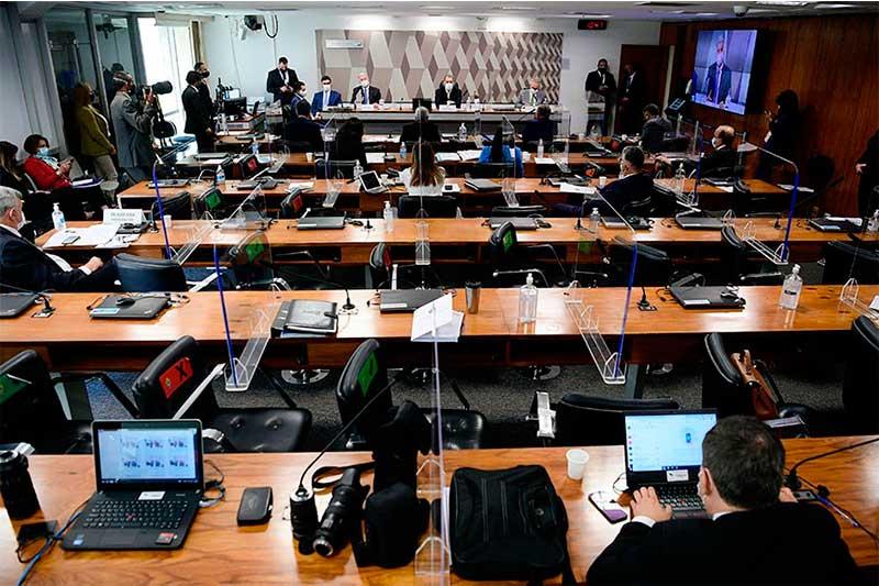 CPI da Covid: senadores aprovaram quebra de sigilos (Foto: Pedro França/Agência Senado)