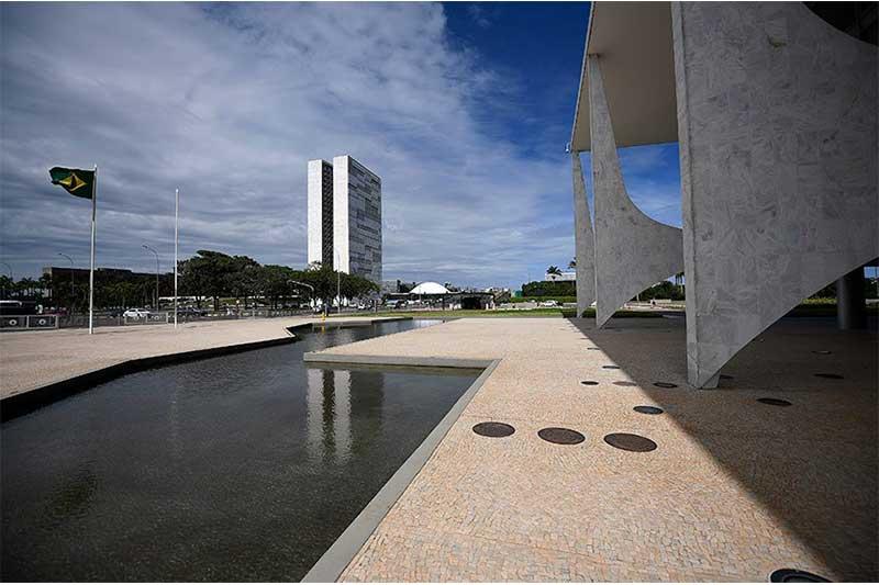 Partidos da base de apoio no Congresso ocupam Palácio do Planalto (Foto: Pedro França/Agência Senado)