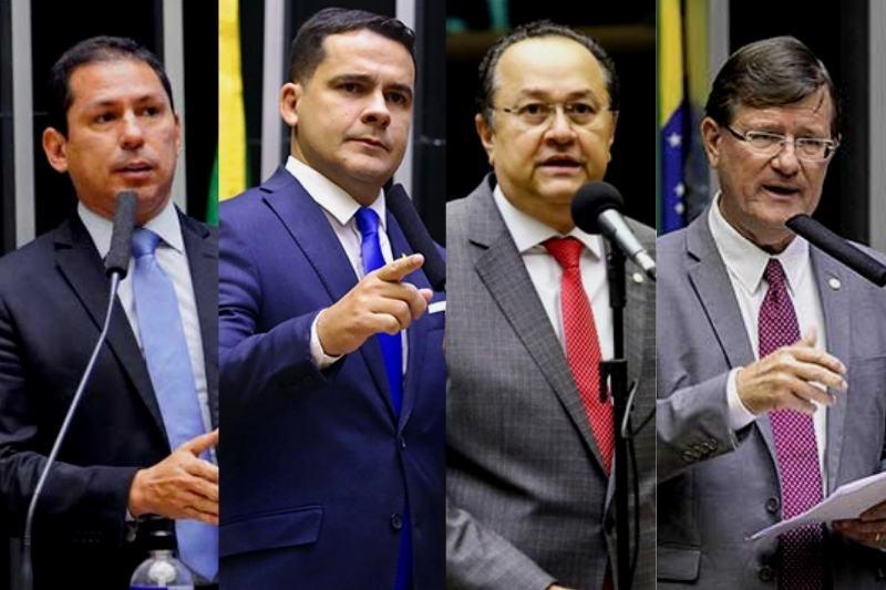 Marcelo Ramos, Alberto Neto, Silas Câmara e José Ricardo falaram sobre voto impresso (Foto: Divulgação)