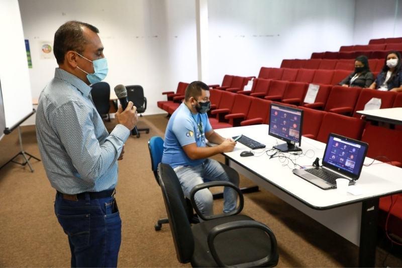 Audiência pública do IMMU é encerrada às pressas por limitações com plataforma on-line (Foto: Sidney Mendonça/IMMU)