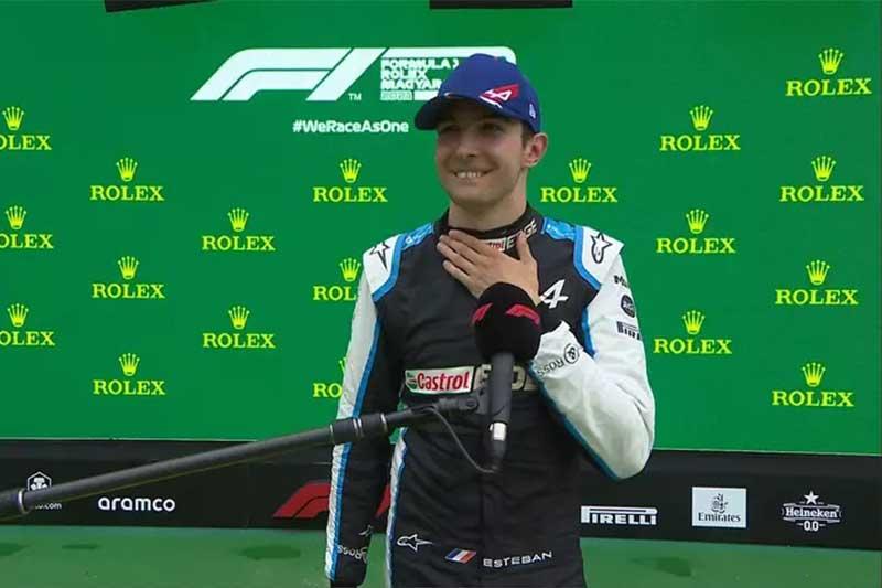 Esteban Ocon onbteve primeira vitória na Fórmula 1 (Foto: Twitter/Reprodução)