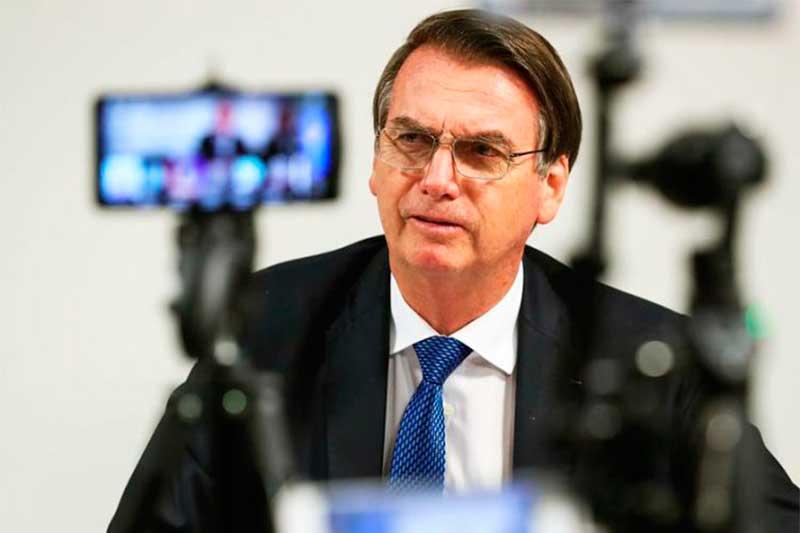 Jair Bolsonaro bloqueia perfis contrários a seus interesses (Foto: Marcos Corrêa/PR)