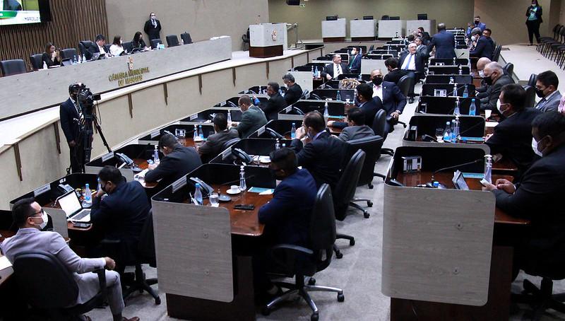Plenário da Câmara Municipal de Manaus