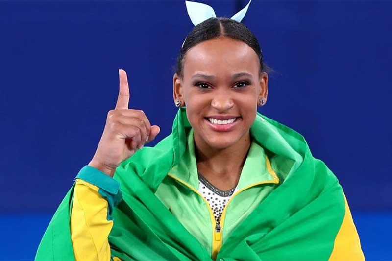 Rebeca Andrade ganhou o ouro no salto e faz história na ginástica (Foto: Jonne Roriz/COB)