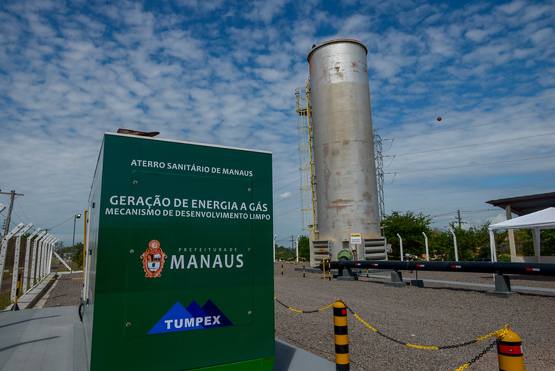 gerador de energia biogás