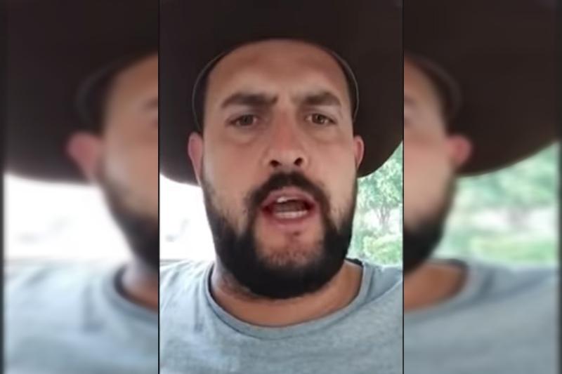 Marcos Antônio Pereira Gomes - o Zé Trovão, fugiu para o México (Foto: YouTube/Reprodução)