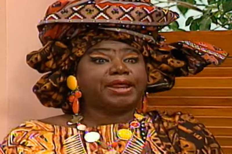 Atriz Marina Miranda participou da 'Escolinha' durante anos (Foto: Viva Rede Globo/Reprodução)