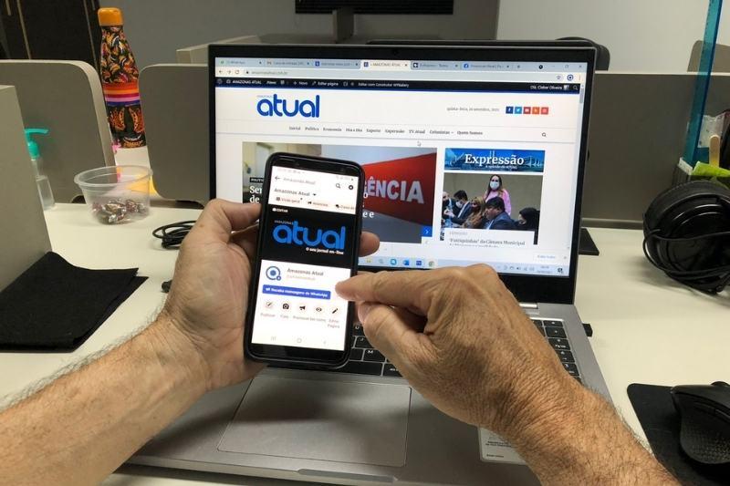 Sites de notícias terão investimento do Facebook (Foto: ATUAL)