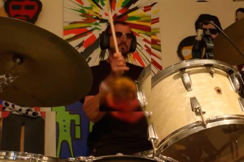 Baterista Ringo Starr lança EP aos 80 anos (Foto: YouTube/Reprodução)