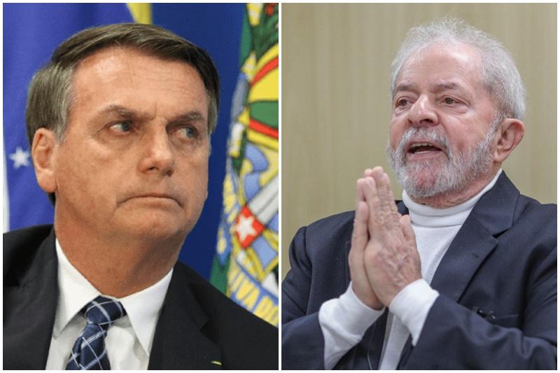 Jair Bolsonaro e Lula mantêm polarização em pesquisa eleitoral (Fotos: Fabio Rodrigues Pozzebom/ABr e Ricardo Stuckert/PT)