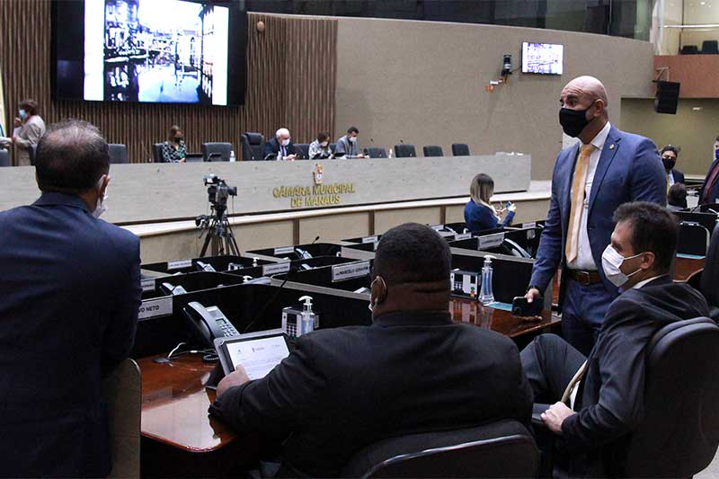 Plenário da Câmara: vereadores usaram cotaão no recesso parlamentar (Foto: Robervaldo Rocha/CMM)