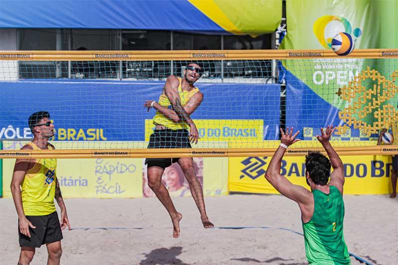 Circuito de Vôlei de Praia tem menos duplas este ano (Foto: Ana Patrícia/Inovafoto/CBV)
