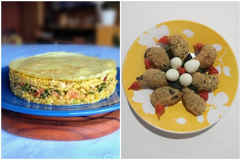 Receitas da final incluem bolo e bolinhos feitos com farinha da Amazônia (Fotos: FAS/Divulgação)