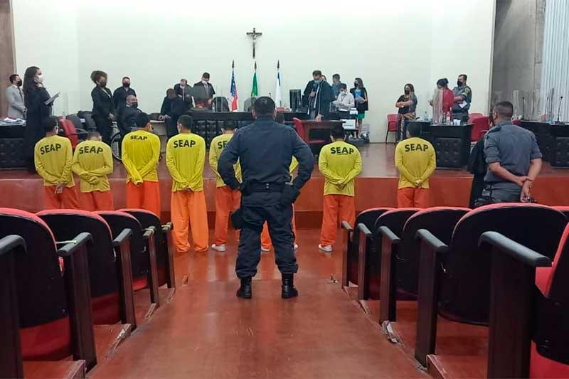 Julgamento dos réus durou três dias em Manaus (Foto: Carlos Souza/TJAM)